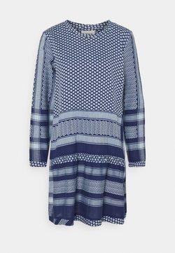 CECILIE copenhagen - DRESS - Freizeitkleid - twilight blue