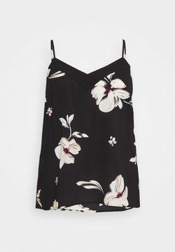 ONLY Carmakoma - CARLILA SINGLET - Bluse - black