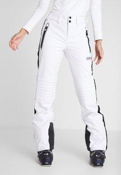 Superdry - SKI CARVE PANT - Snow pants - arctic white
