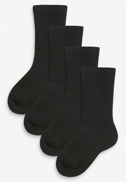 Next - 4 PACK  - Calcetines - black