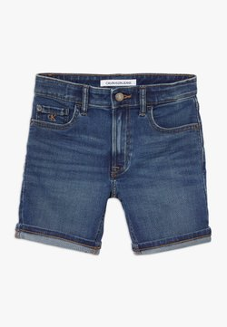 Calvin Klein Jeans - TAPERED SHORT  - Jeansshort - denim