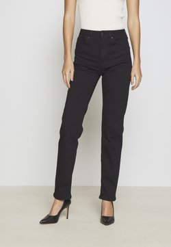 Anna Field - STRAIGHT LEG - Straight leg jeans - black denim