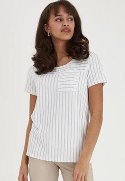 Fransa - FRJEJACQ - T-Shirt print - white mix