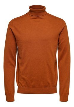 Selected Homme - Trui - pumpkin spice