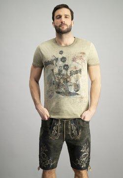 Stockerpoint - BOANDLKRAMER - T-Shirt print - sand