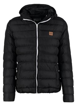 Urban Classics - BASIC BUBBLE JACKET - Talvitakki - black/white/black