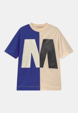 Marni - MAGLIETTA UNISEX - T-Shirt print - blue
