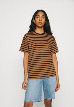 Carhartt WIP - ROBIE - T-Shirt print - robie/rum/black