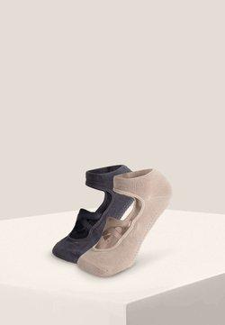 OYSHO - 2 PAIRS  - Enkelsokken - grey