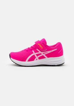 ASICS - PATRIOT 12 UNISEX - Neutral running shoes - pink glo/white