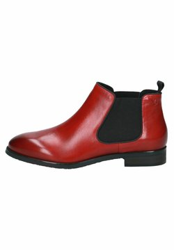 Caprice - CHELSEA BOOT - Ankle Boot - rosso nappa