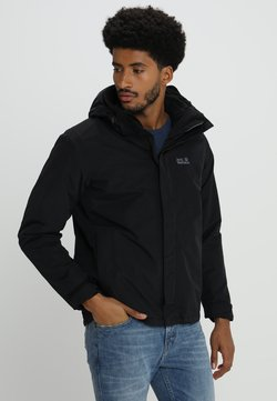 Jack Wolfskin - GOTLAND 2-IN-1  - Outdoorjacke - black