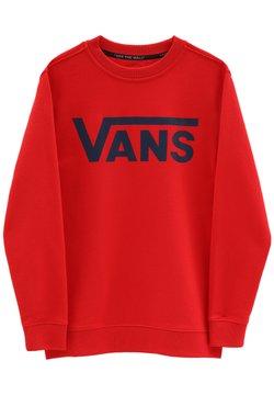 Vans - BY VANS CLASSIC CREW BOYS - Collegepaita - high risk red/dress blues