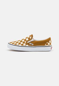 Vans - CLASSIC UNISEX - Loaferit/pistokkaat - golden brown/true white