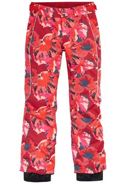 O'Neill - Pantalon de ski - red aop w/ pink or purple