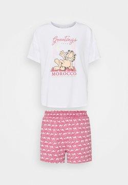 Women Secret - SHORT SLEEVES SHORT PANT - Pyjama - summer white