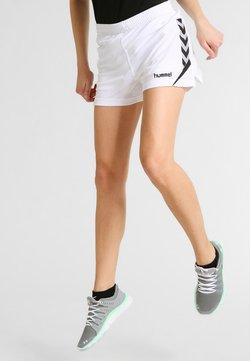 Hummel - CHARGE SHORTS - Urheilushortsit - white