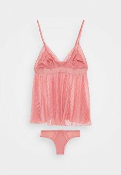 Hunkemöller - EVANGELINA CAMI SET - Pyjama - dusty rose
