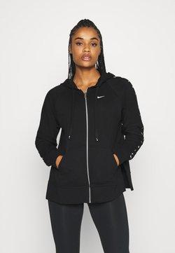 Nike Performance - DRY GET FIT TAPING - veste en sweat zippée - black