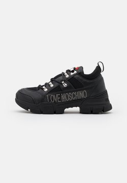 Love Moschino - TREKK - Sneakers laag - black
