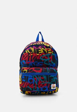 Benetton - KNAPSACK - Reppu - multicoloured