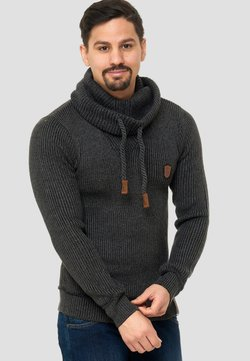 INDICODE JEANS - KESHAWN - Maglione - anthrazit
