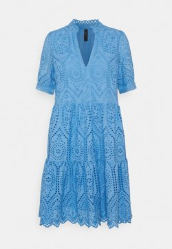 YAS - YASHOLI DRESS  - Korte jurk - silver lake blue