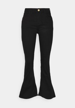 River Island Petite - Jeans a zampa - black