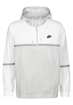 Nike Performance - Windbreaker - white grey fog particle grey black