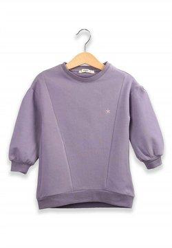 Cigit - Embroidery Detailed Tunic Sweatshirt (2 to 7 years) - Sweater - mauve