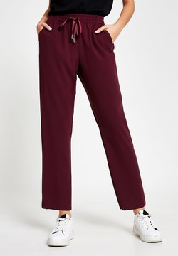 River Island - Pantalon de survêtement - red
