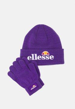 Ellesse - VELLY BEANIE BUBB GLOVE PACK SET - Fingerhandschuh - purple