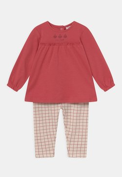 OVS - NEWBORN SET  - Leggings - garnet rose