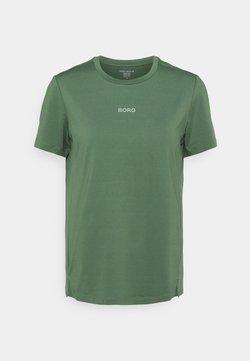 Björn Borg - REGULAR TEE - T-Shirt basic - duck green