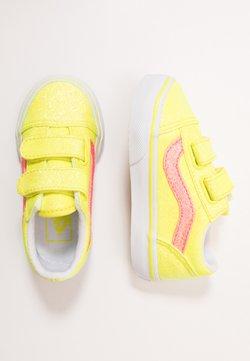Vans - OLD SKOOL - Zapatillas - neon glitter yellow/true white