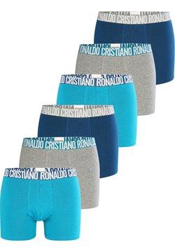 Cristiano Ronaldo CR7 - CRISTIANO RONALDO  6-PACK - Panties - blau grau