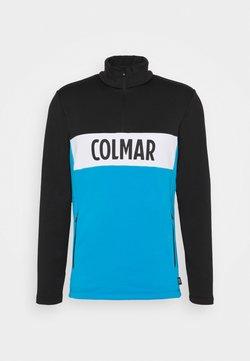 Colmar - Fleecepullover - peacock/black/white