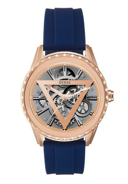 Guess - SMART WATCH - Smartwatch - rose gold-coloured/blue