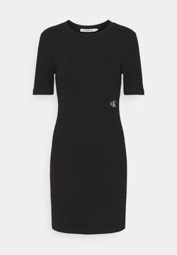 Calvin Klein Jeans - SLUB DRESS - Vestido de tubo - black