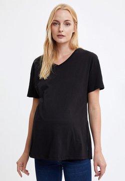 DeFacto - Camiseta básica - black
