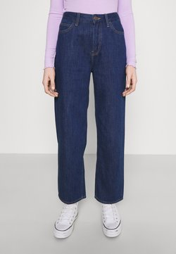 Lee - WIDE LEG - Relaxed fit -farkut - rinsed denim