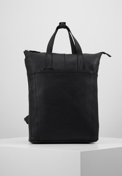 Zign - UNISEX -LEATHER - Reppu - black