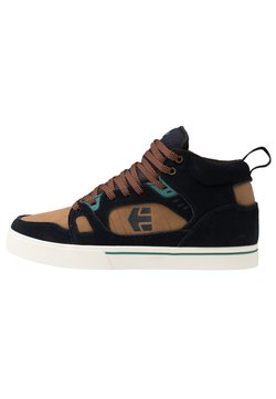 Etnies - AGRON - Chaussures de skate - navy/brown/white