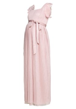Anaya with love Maternity - FLUTTER SLEEVE PLEATED MAXI DRESS - Festklänning - frosted pink