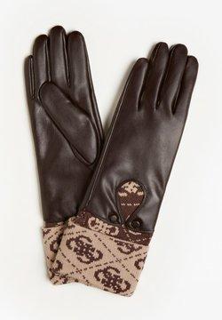 Guess - Fingerhandschuh - braun