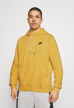Nike Sportswear - HOODIE - Sweat à capuche - solar flare/smoke grey