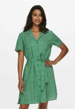 JDY - Blusenkleid - medium green denim