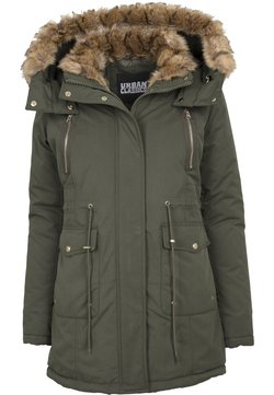 Urban Classics - LADIES IMITATION  - Parka - darkolive