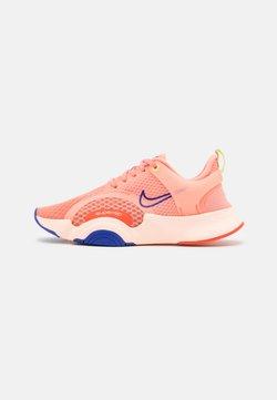 Nike Performance - SUPERREP GO 2 - Zapatillas de entrenamiento - crimson bliss/concord/crimson tint/team orange/lime glow