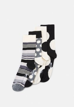 Happy Socks - 4 PACK - Calze - black